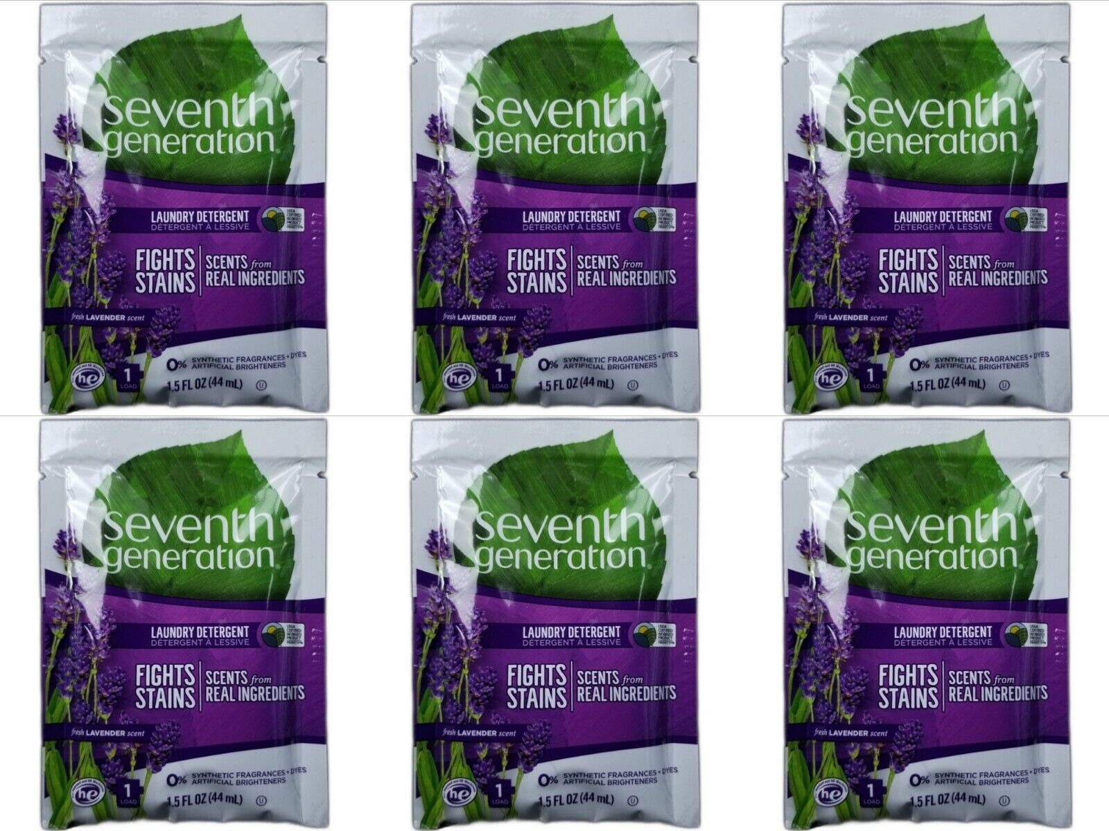 Seventh Generation Liquid Laundry Detergent, Lavender - 9 FL
