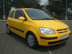 2005 Hyundai Getz GL Manual 3dr Hatch with RWC & REG