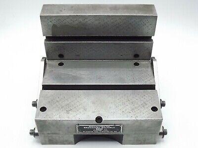 Bridgeport Angle Sine Plate Combination Angle Plate Sine Table 6 14l X 7w