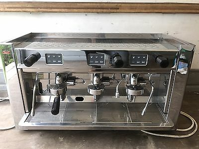 Brasilia Gradisca Kenco Branded  3 Group Commercial Coffee Machine Barrista