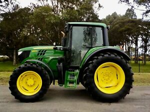 2015 John Deere 6125M 4x4 130hp Agricultural Farm Tractor Austral Liverpool Area Preview