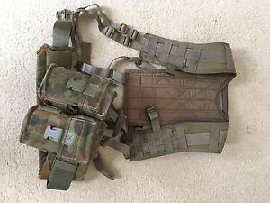 Military ADF Army DPCU Harness + Webbing belt issued belt&pouches Melbourne CBD Melbourne City Preview