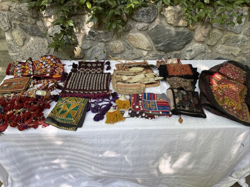 Vintage Ethnic Middle Eastern African Tribal textile lot
