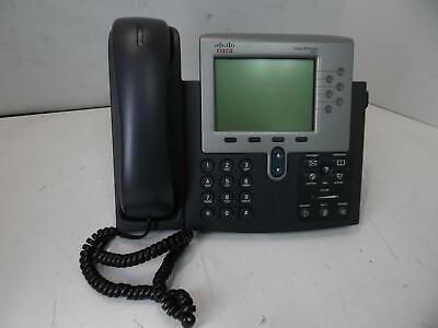 Cisco Cp-7961g-ge Unified Voip 6 Line Gigabit Ip Phone