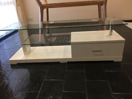 Tv unit - white - Memphis - fantastic furniture