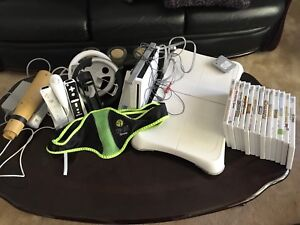 Wii with lots of extras