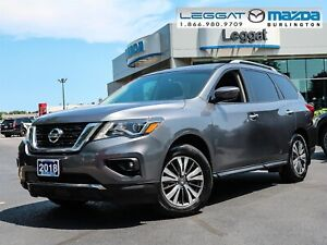 2018 Nissan Pathfinder SL- 4WD, LEATHER, BLUETOOTH, HITCH, MO...
