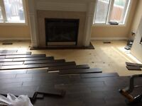 Professional flooring installation, hardwood laminate installer