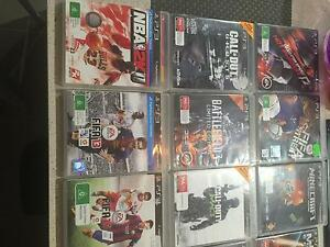 PLAYSTATION 3 180G plus 18 games