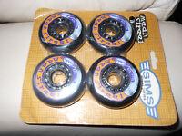 4x Sims Street Series Mean Street Wheels Inline Skates Skating 82a 76mm - sims - ebay.co.uk