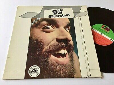 INSIDE SHEL SILVERSTEIN VG++ Atlantic SD-8257 Folk Songs Humorous 1970 Inside Folk Songs