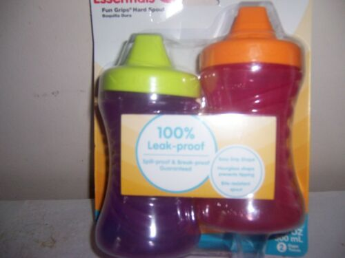Nuk first essentials fun grips hard spout cups 12+ months sippy cups New
