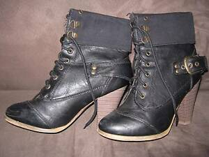 2 Pair Ladies Boots - Size 6 and 39 Hamersley Stirling Area Preview