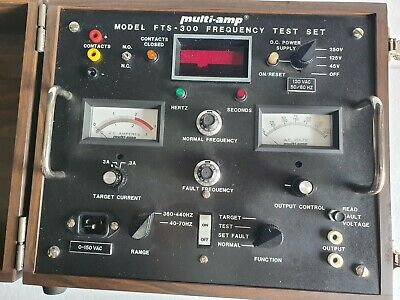 Megger Multi-amp Fts-300-e Frequency Test Set 120v