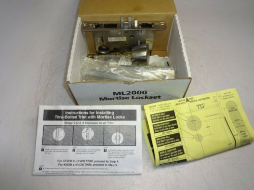 CORBIN RUSSWIN ML2057-BWP-626 ML2000 MORTISE LOCKSET