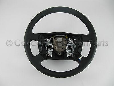 NEW EURO Genuine VW OEM Mk4 B5.5 Black Leather Multi Function Steering Wheel