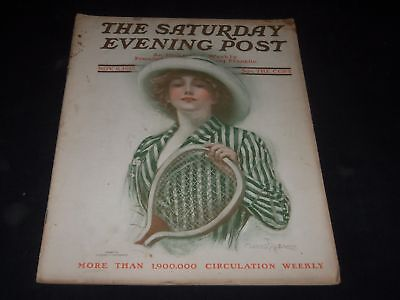 1912 NOVEMBER 9 SATURDAY EVENING POST MAGAZINE - FULL PAGE COLOR ADS - O10991 - November Coloring Pages