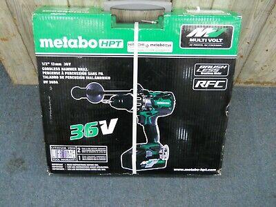 Metabo Hpt Hitachi Dv36da Multivolt 36 Volt Hammer Drill W 2 Batteries 36v