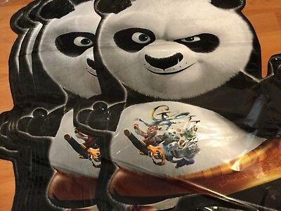 Kung Fu Panda Party Supplies (3 pc Kung Fu Panda Balloon Animal Zoo Shower Birthday Party Supplies)