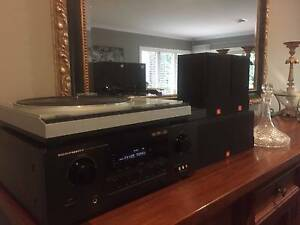 HI-FI Vintage Turntable & Stereo System Lane Cove Lane Cove Area Preview