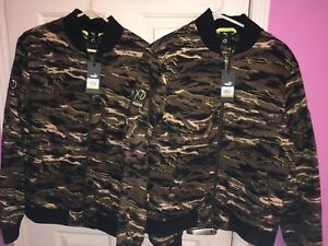 SELLING TWO Puma XO The Weeknd Camo Bomber Jackets (Small & Med)