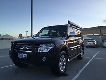 2011 Mitsubishi Pajero (MY12) - On-road luxury, off-road power Claremont Nedlands Area Preview
