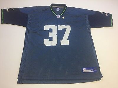 6795ab8e SHAUN ALEXANDER #37 Reebok On Field Jersey SEATTLE SEAHAWKS Football NFL SZ  2XL