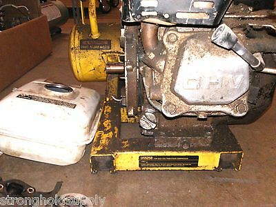 Used Gas Motor 4hp Base For D55250 T1 Dewalt - Picture Is Of Entire Tool