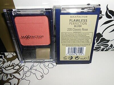 MAX FACTOR FLAWLESS PERFECTION BLUSH 220 CLASSIC ROSE DISCONTINUED FULL SIZE