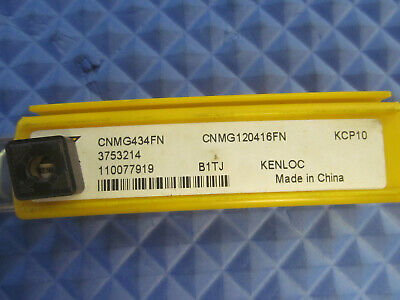 CNMG 543 MN KCP10 KENNAMETAL *** 10 INSERTS *** FACTORY PACK ***