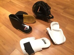 Youth Karate sparring equipment