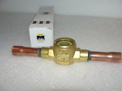 Mueller Refrigeration 230715 Moisture Indicator 012 0.5 Odx31.8mm Hx113mm New