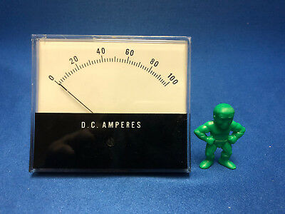 Jewell Electrical Instruments Ms3 0-100 Dc Volts Indicator F.s. 50 Mv.d.c