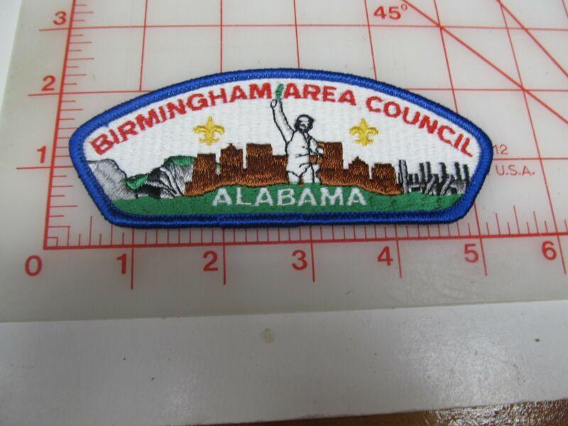 Birmingham Area Council CSP collectible PB patch (o34)