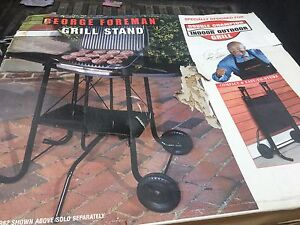 George Foreman grill stand