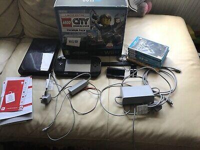 Boxed Nintendo Wii U Mariokart 8 Super Mario Bros 32GB - 5 Games Bundle