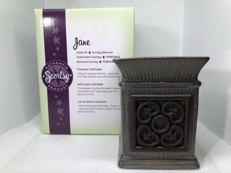 SCENTSY Mini Plug In Warmer JANE - Ceramic Wax Melt Nightlight With Box