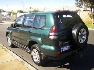 2003 Toyota LandCruiser Prado Petrol Automatic, Only 190000 km Morley Bayswater Area Preview