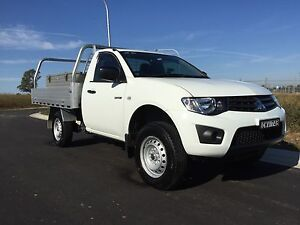 2015 Mitsubishi Triton Ute MY14 turbo diesel Kellyville The Hills District Preview