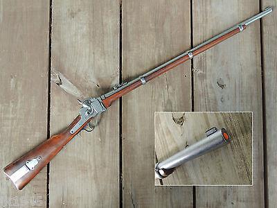 Replica 1859 Sharps Military Rifle Civil War Reenactor Western Cowboy Prop Gun