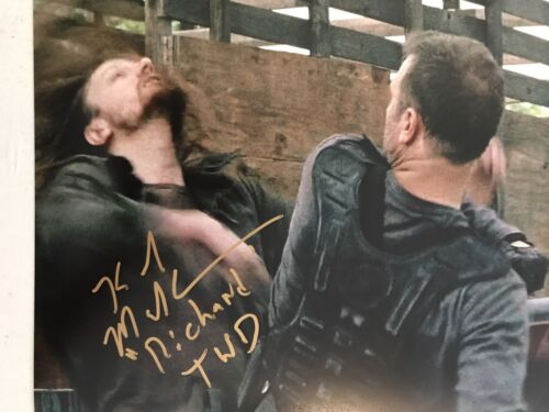 Купить Karl Makinen Signed Autographed 8x10 Photo The Walking Dead Richard Coa