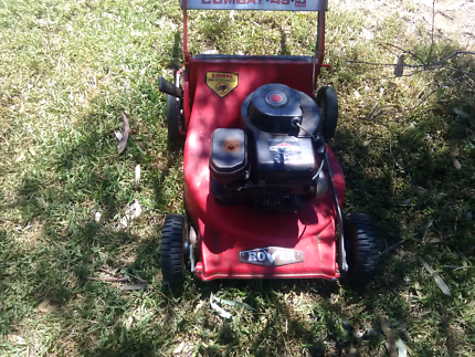 Rover mower