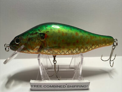 hand carved wood NOS free shipping Gapen Musky lure