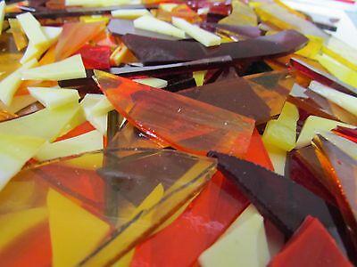 SUNSHINE Colors Various scrap glass for Mosaic work GOOD mix!