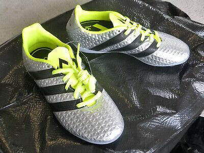 best website 47b9e ca993 NWT, Addidas Kids Soccer Shoes, ACE 16.4 FxG J, Silver, Kids 13K, S42142