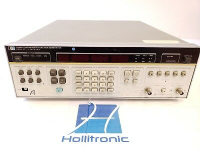 Agilent Hp 3325a Function Generator 21 Mhz Opt 001