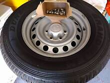 Toyota Hilux SR 4x4 Tyres and Rims 265 / 65R17 Tweed Heads South Tweed Heads Area Preview