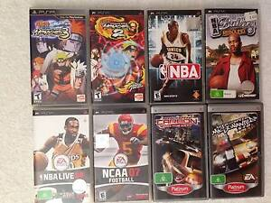 Sony PSP GAMES PlayStation Portable 3of4 Epping Whittlesea Area Preview
