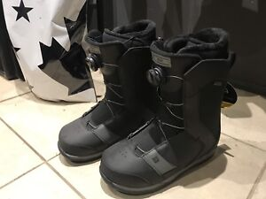 Ride Riot snowboard boots with BOA system (10.5)