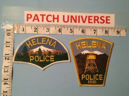 LOT OF 2 DIFFERENT HELENA  MONTANA  SHOULDER  PATCHES  J032